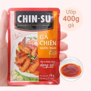 Gia vị hoàn chỉnh dạng xốt gà chiên nước mắm Chinsu gói 70g