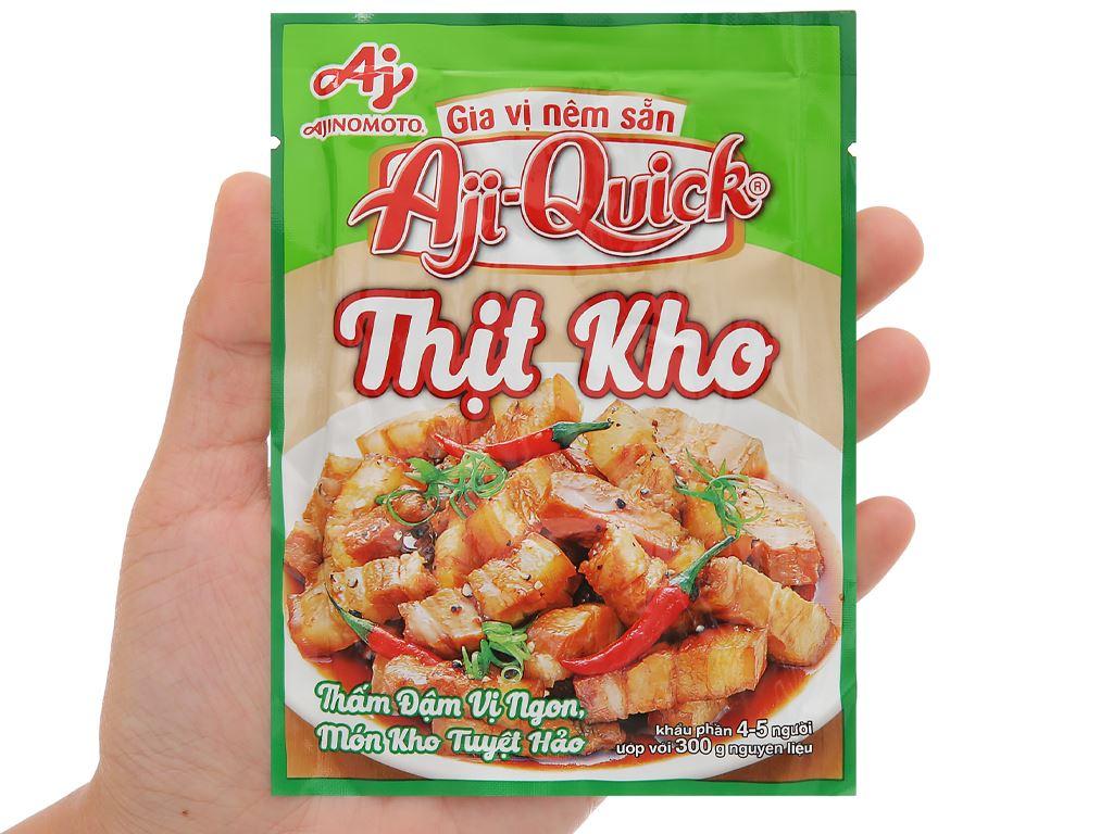 Gia vị nêm sẵn thịt kho Aji-Quick gói 31g 4
