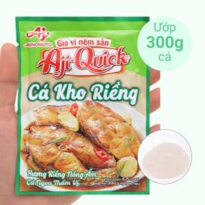 Gia vị nêm sẵn cá kho riềng Aji-Quick gói 29g