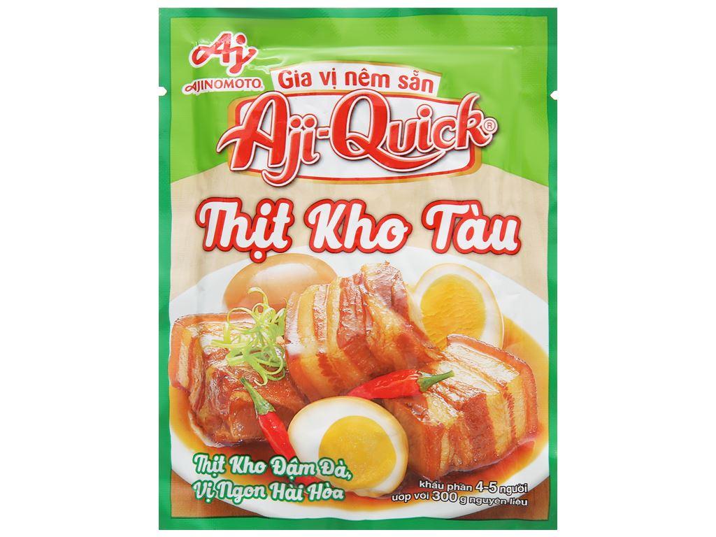 Gia vị nêm sẵn thịt kho tàu Aji-Quick gói 32g 1