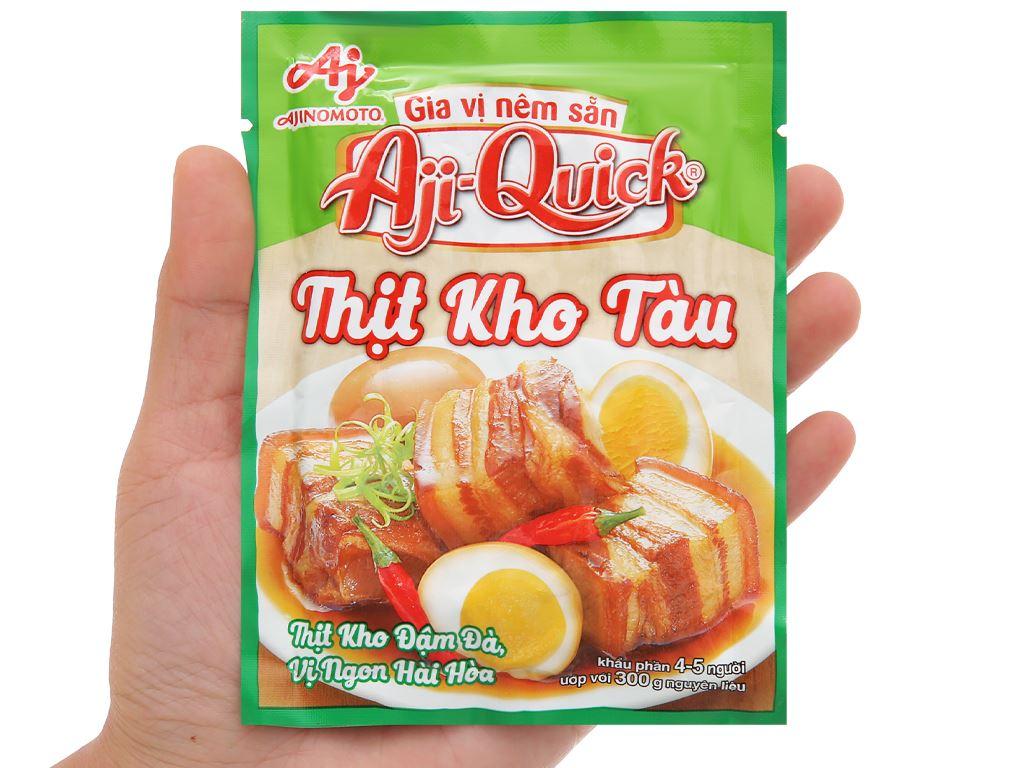 Gia vị nêm sẵn thịt kho tàu Aji-Quick gói 32g 4