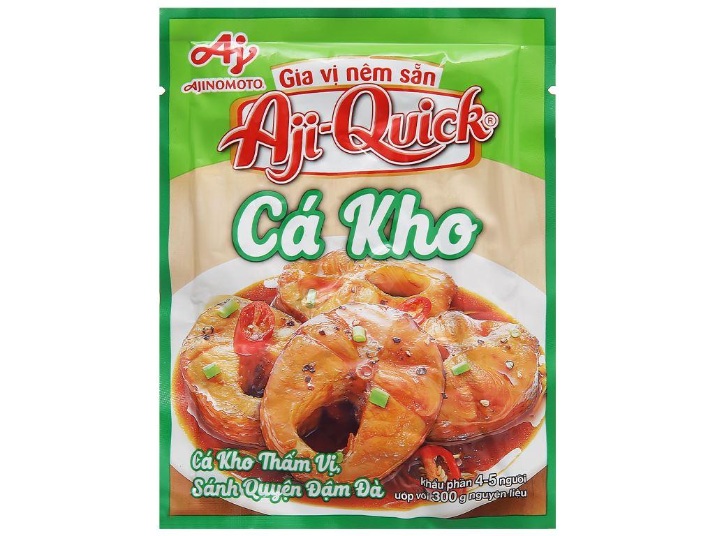 Gia vị nêm sẵn cá kho Aji-Quick gói 31g 1
