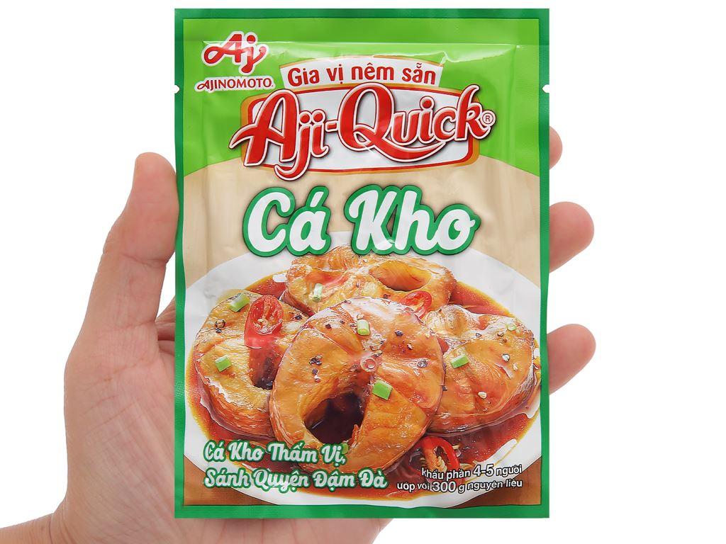 Gia vị nêm sẵn cá kho Aji-Quick gói 31g 4