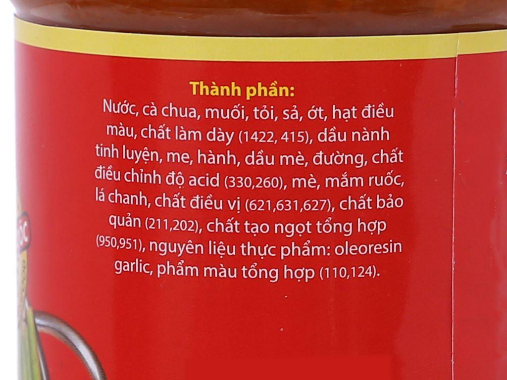 Sốt lẩu Thái Ông Chà Và chai 280g 3