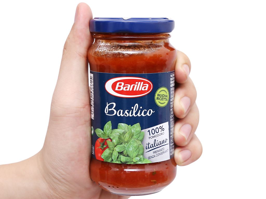 Sốt cà Barilla Basilico hũ 200g 6