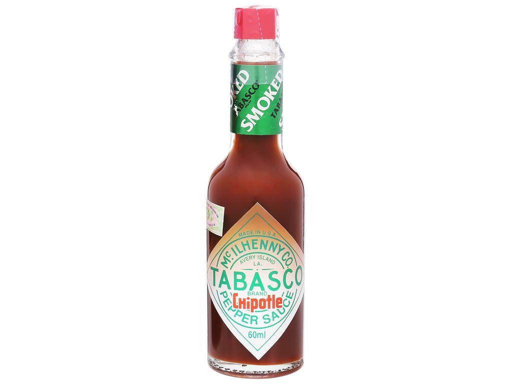 Sốt ớt Tabasco Chipotle chai 60ml 6