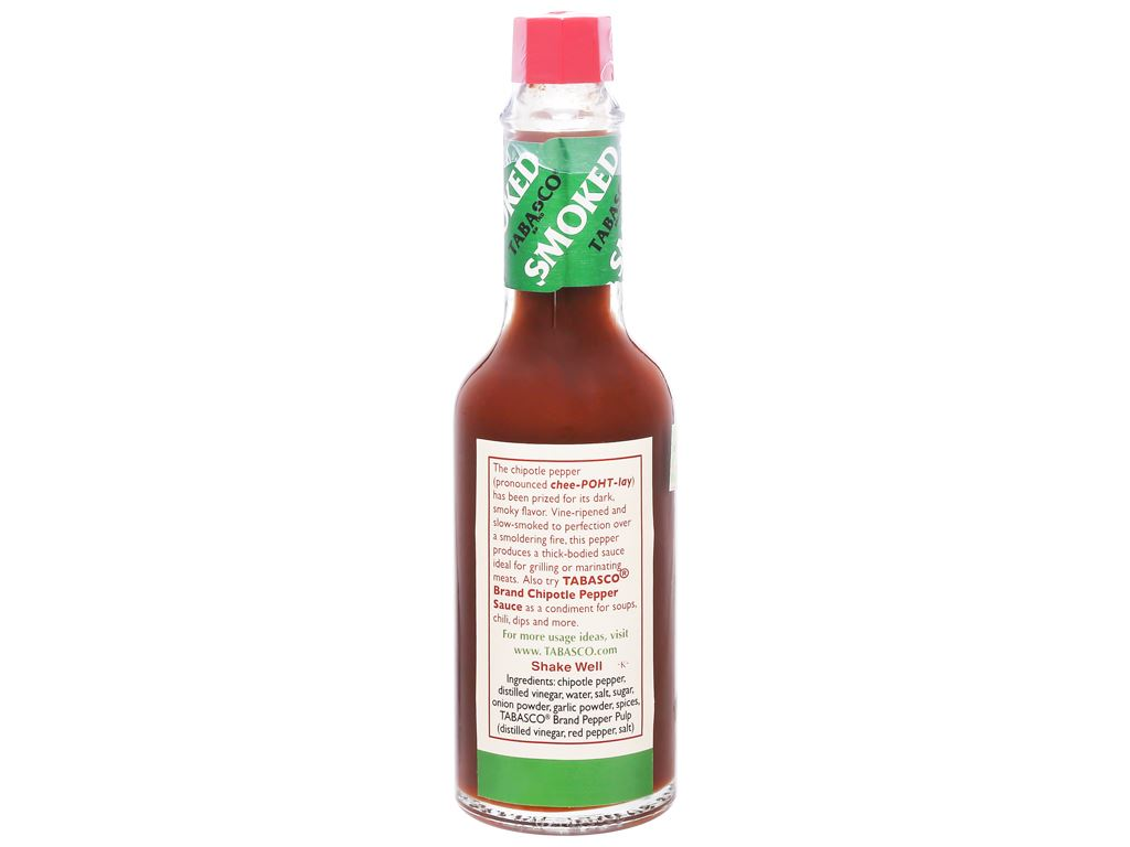 Sốt ớt Tabasco Chipotle chai 60ml 7