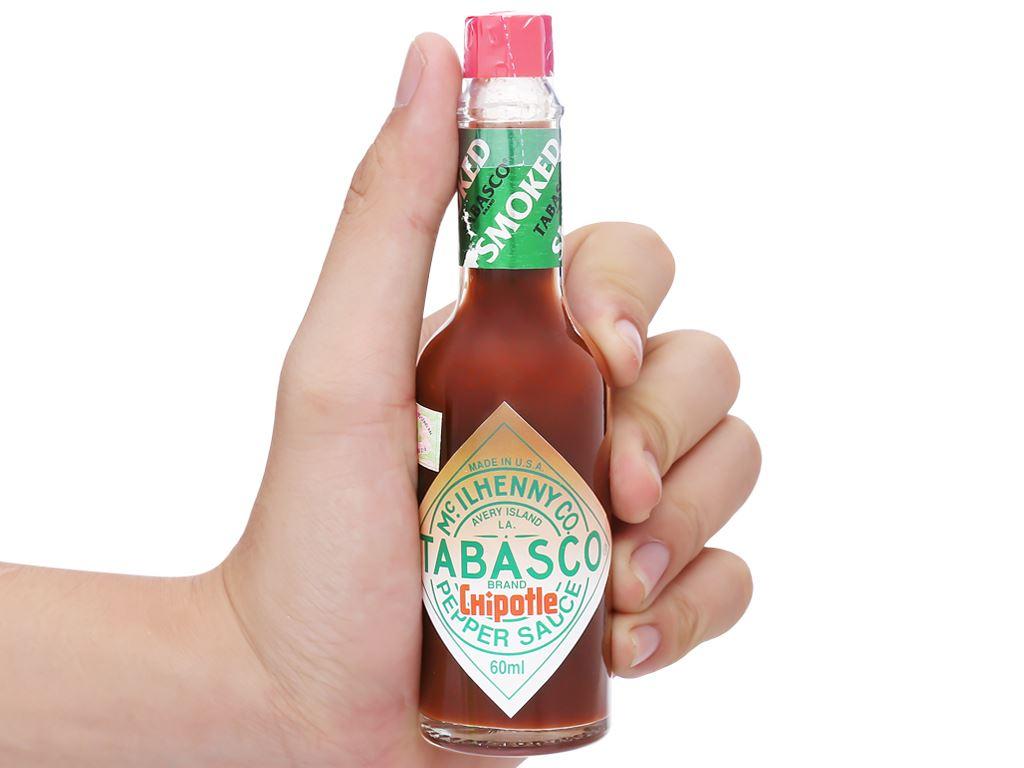 Sốt ớt Tabasco Chipotle chai 60ml 11