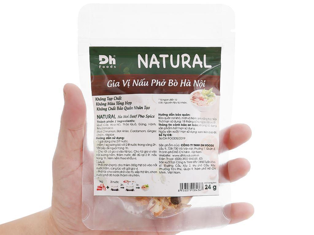 Gia vị nấu phở bò Hà Nội DH Food Natural gói 24g 5