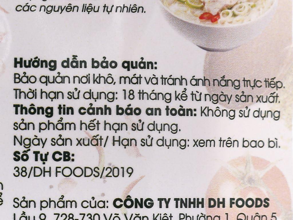 Gia vị nấu phở gà DH Food Natural gói 20g 4