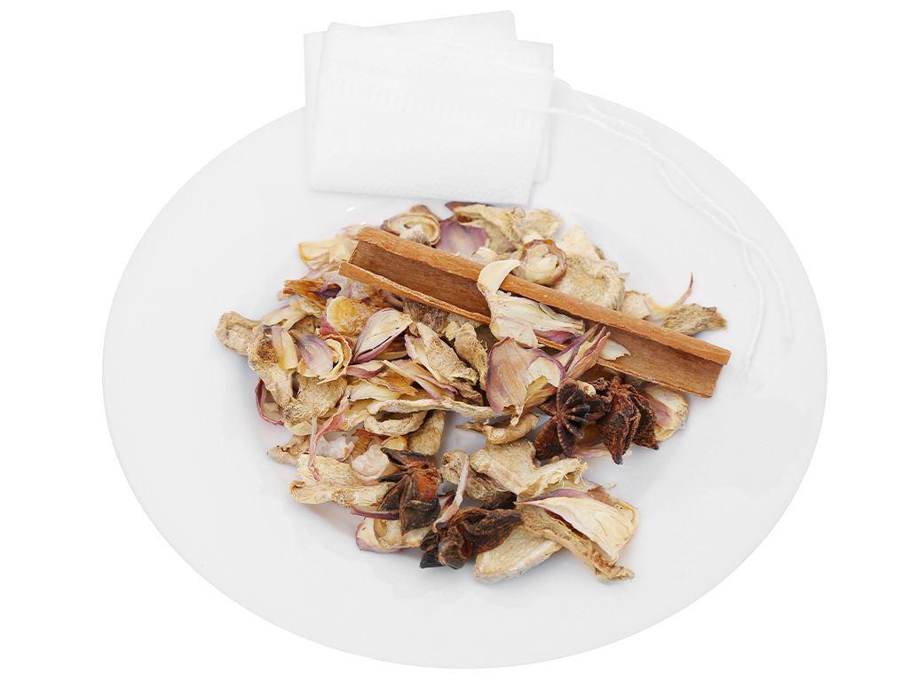Gia vị nấu phở gà DH Food Natural gói 20g 7