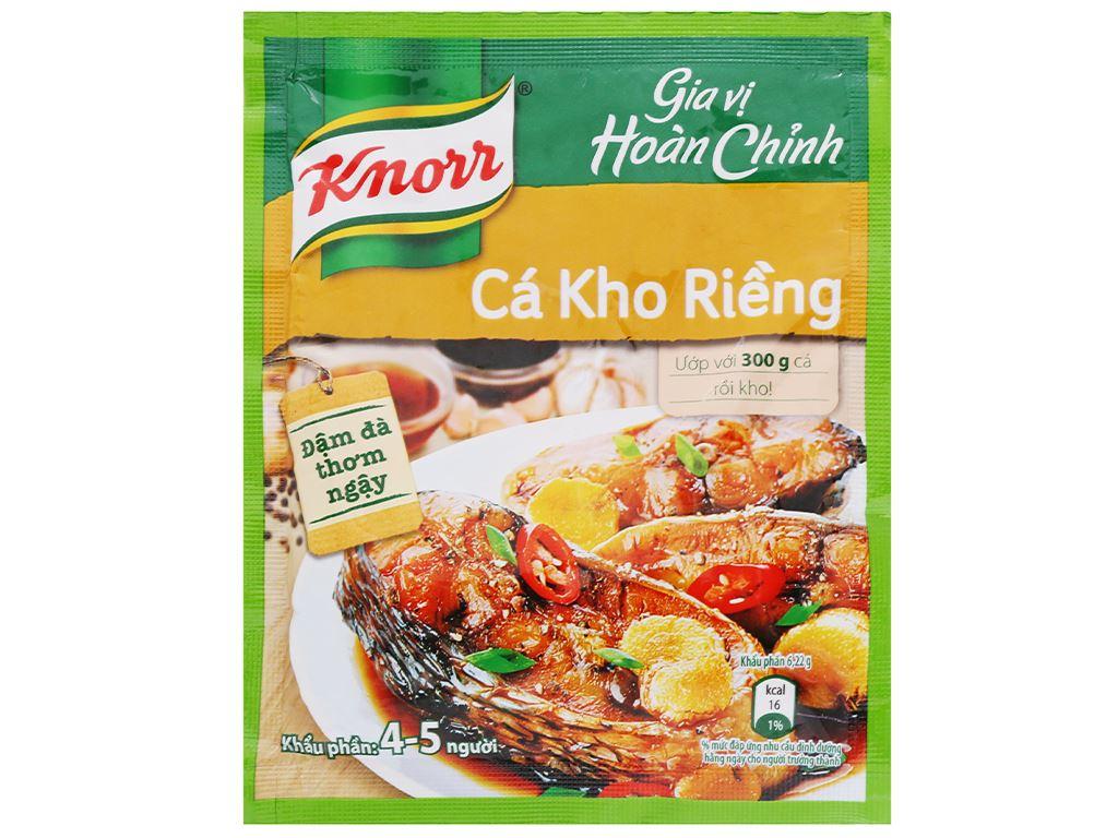 Gia vị hoàn chỉnh cá kho riềng Knorr gói 28g 1