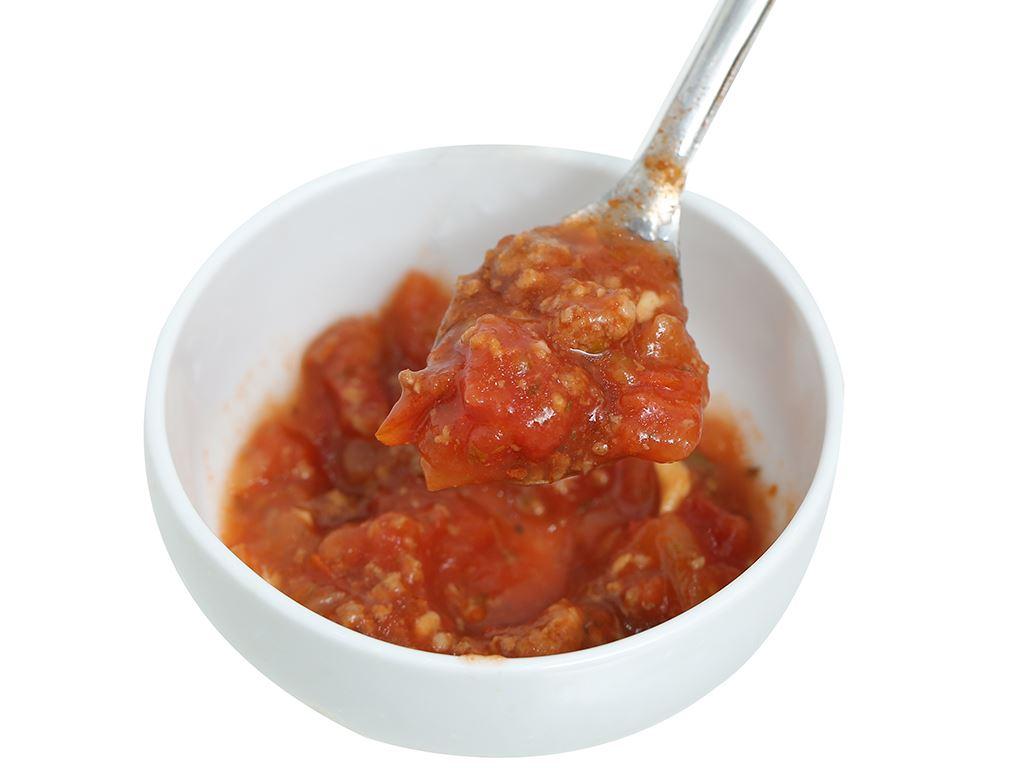 Xốt mì Spaghetti thịt bò Bolognese Golden Farm hũ 370g 8