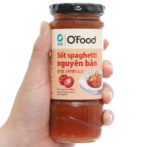 Sốt spaghetti nguyên bản O'food hũ 220g