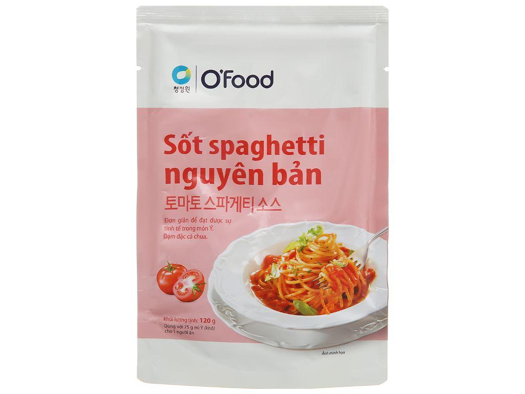 Sốt spaghetti nguyên bản O'food gói 120g 1