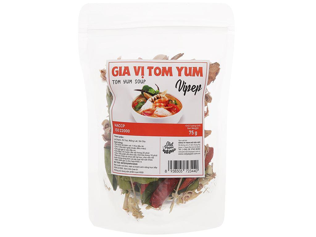 Gia vị tôm yum Vipep gói 75g 1