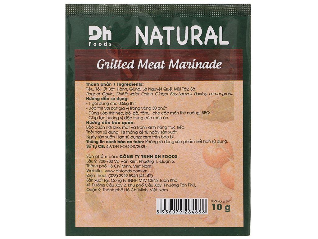 Gia vị ướp thịt nướng DH Food gói 10g 2