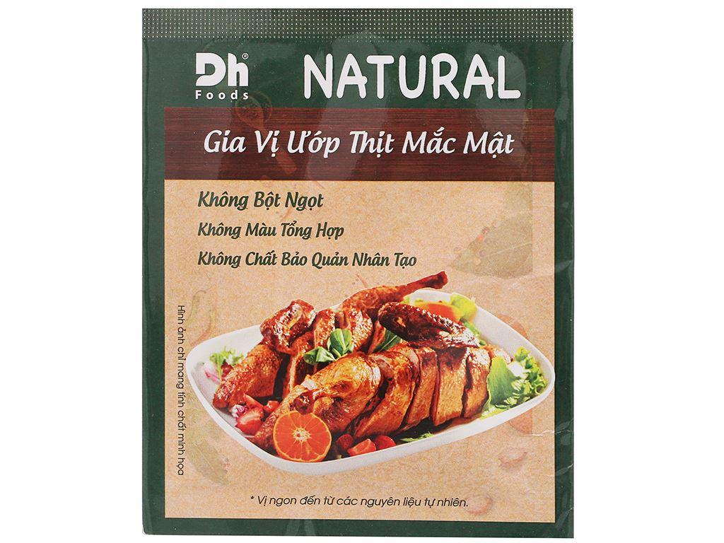 Gia vị ướp thịt mắc mật DH Food Natural gói 10g 1