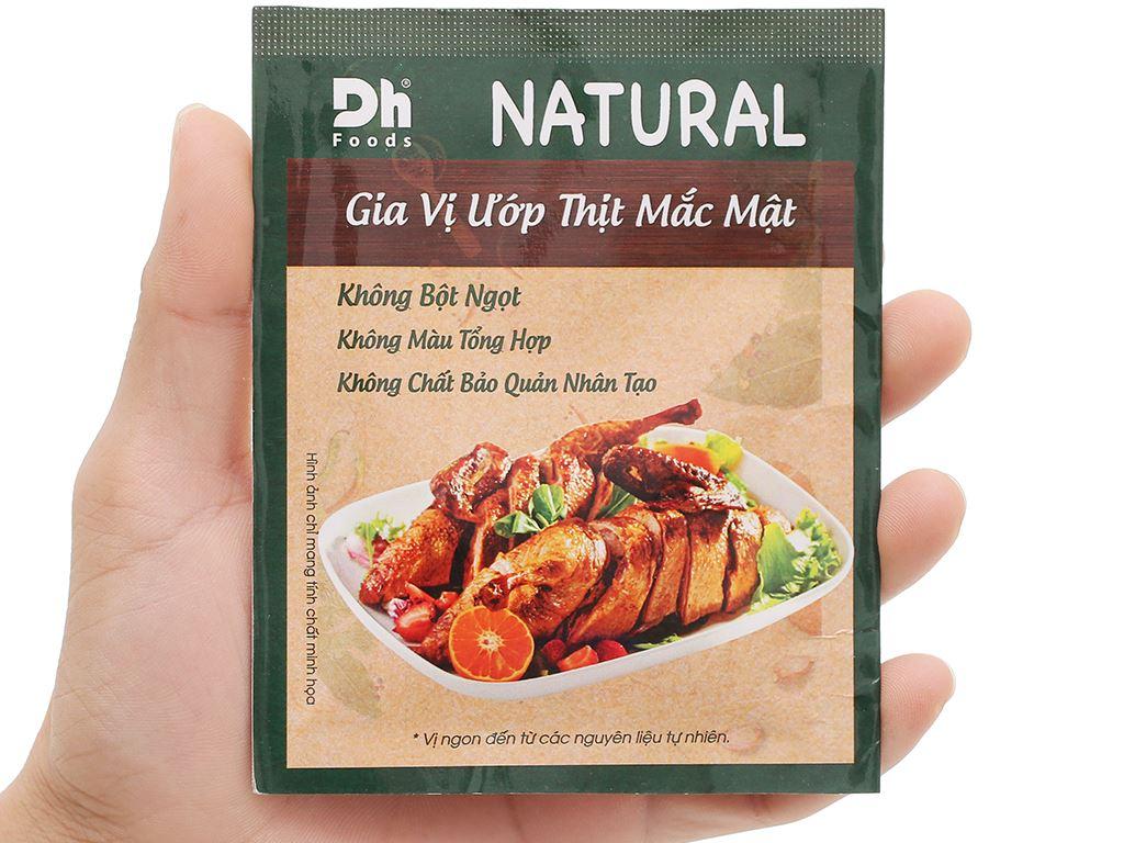 Gia vị ướp thịt mắc mật DH Food Natural gói 10g 4