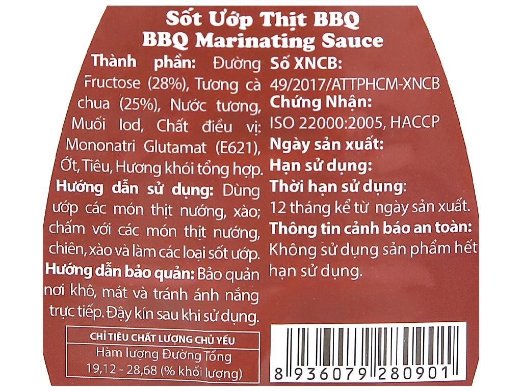 Sốt ướp thịt BBQ DH Food hũ 200g 3