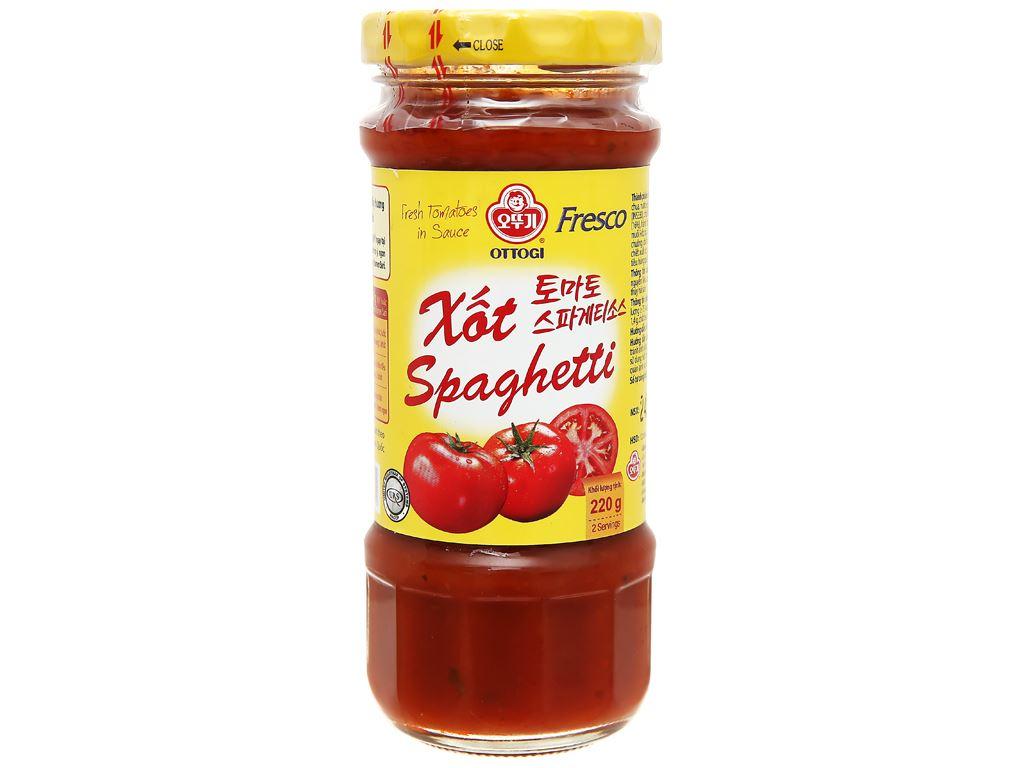 Xốt mì Spaghetti Ottogi hũ 220g 1