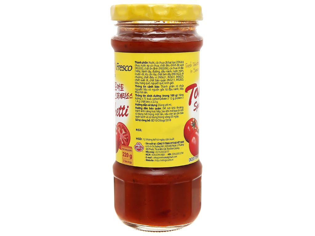 Xốt mì Spaghetti Ottogi hũ 220g 3
