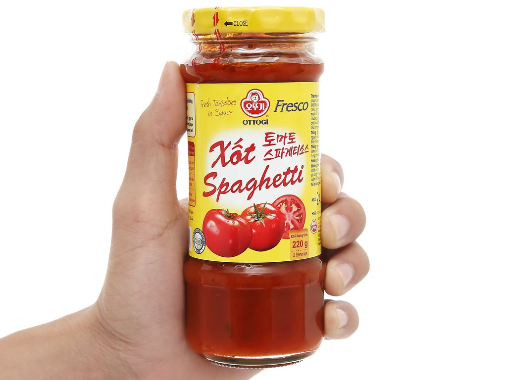 Xốt mì Spaghetti Ottogi hũ 220g 6