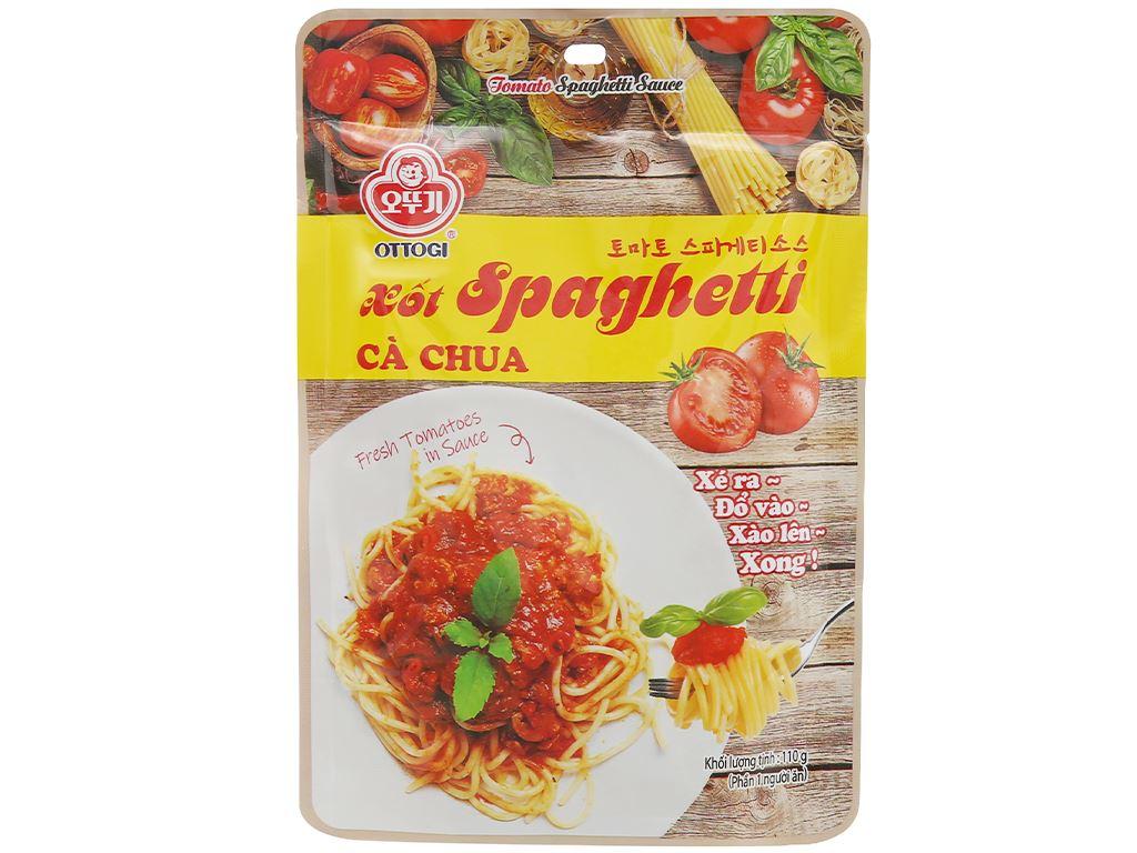 Xốt mì Spaghetti vị cà chua Ottogi gói 110g 1
