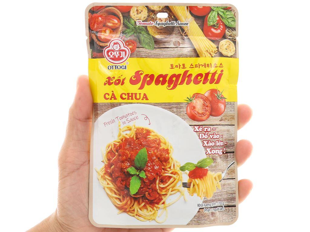 Xốt mì Spaghetti vị cà chua Ottogi gói 110g 5