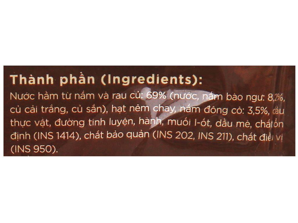 Nước dùng cô đặc vị nấm SG Food gói 180g 3