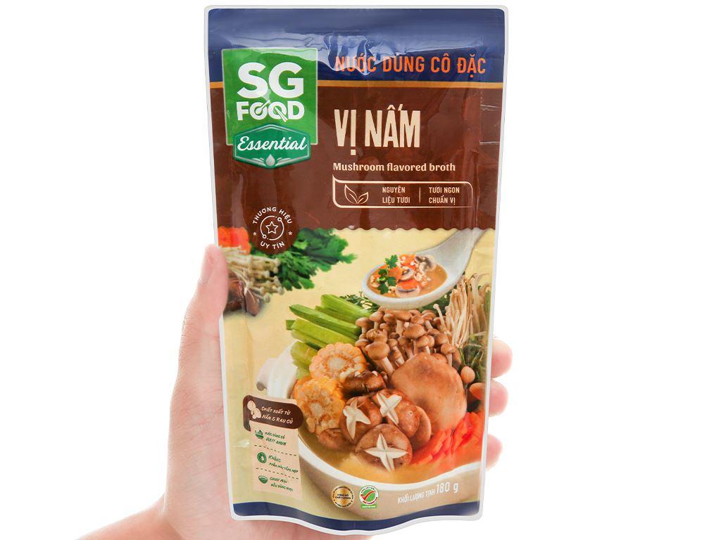 Nước dùng cô đặc vị nấm SG Food gói 180g 4