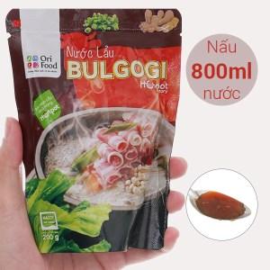 Nước lẩu vị Bulgogi Orifood túi 200g
