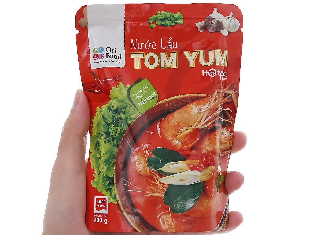 Nước lẩu vị Tom Yum Orifood túi 200g 4