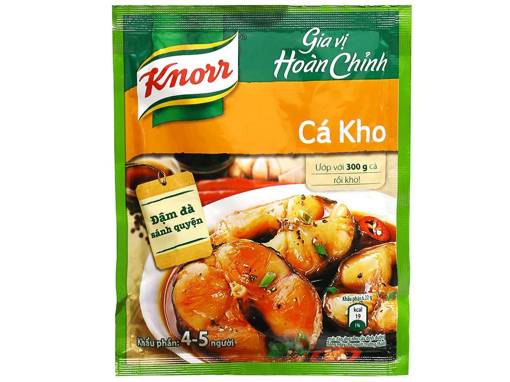 Gia vị hoàn chỉnh kho cá Knorr gói 28g 5