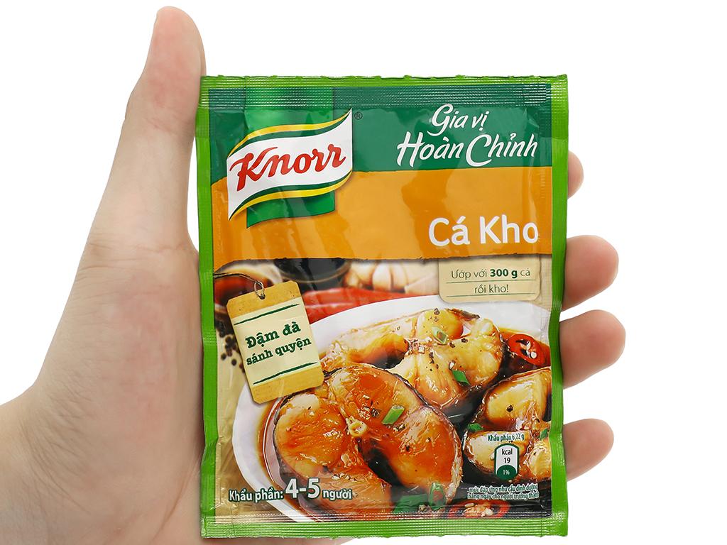 Gia vị hoàn chỉnh kho cá Knorr gói 28g 8