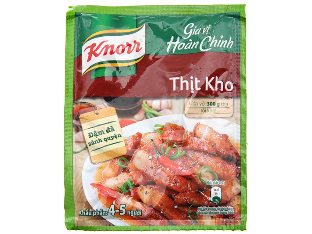 Gia vị hoàn chỉnh kho thịt Knorr gói 28g 1