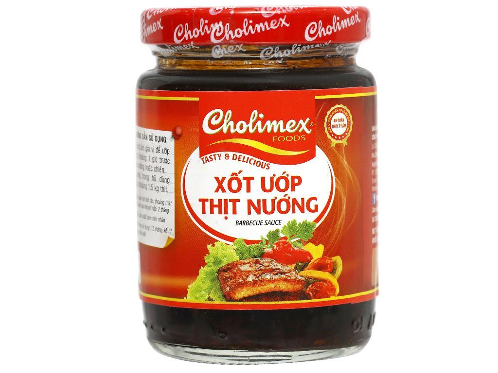 Xốt ướp thịt nướng Cholimex hũ 200g 5