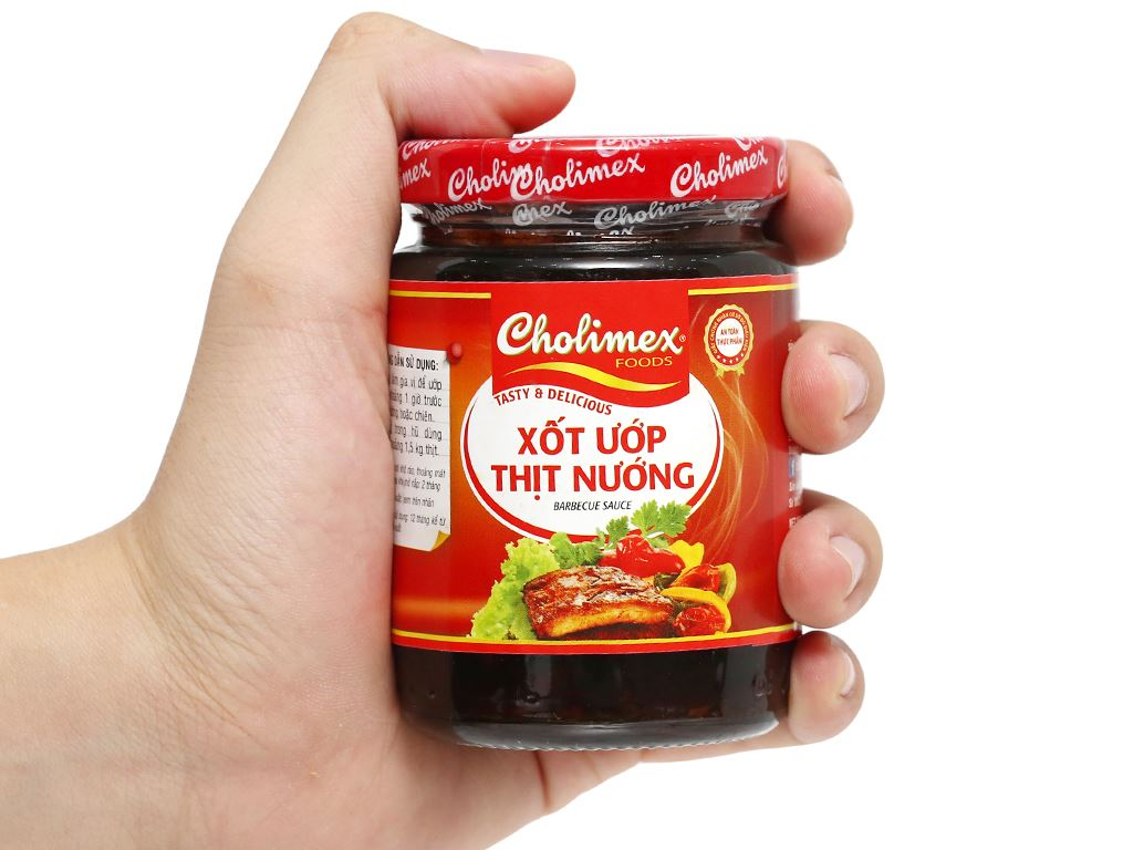 Xốt ướp thịt nướng Cholimex hũ 200g 9