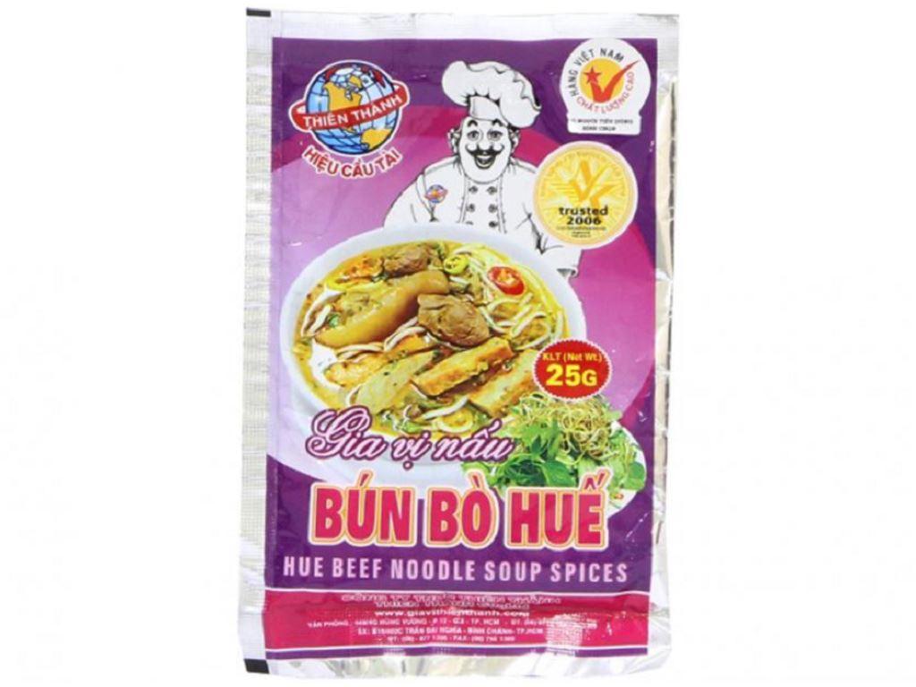 Gia vị nấu bún bò Huế Thiên Thành gói 25g 1