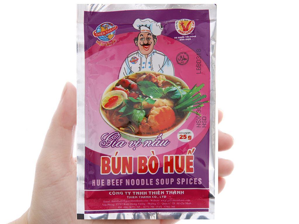 Gia vị nấu bún bò Huế Thiên Thành gói 25g 3