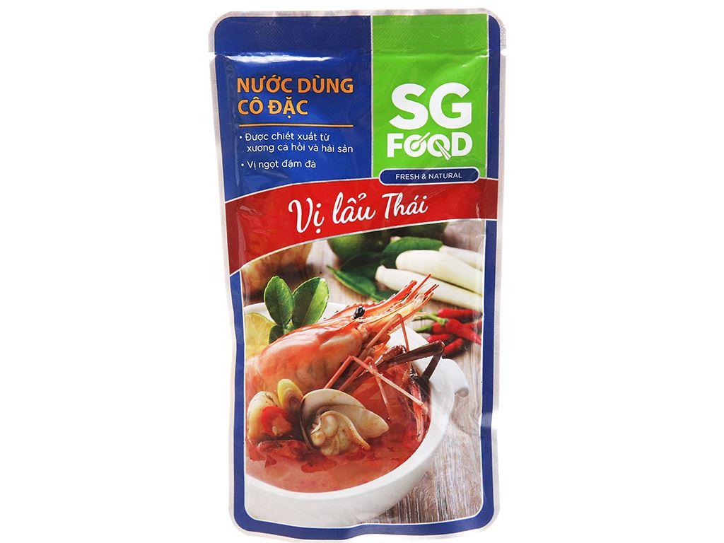 Nước dùng cô đặc lẩu Thái SG Food gói 150g 1