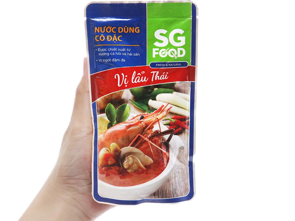 Nước dùng cô đặc lẩu Thái SG Food gói 150g 4