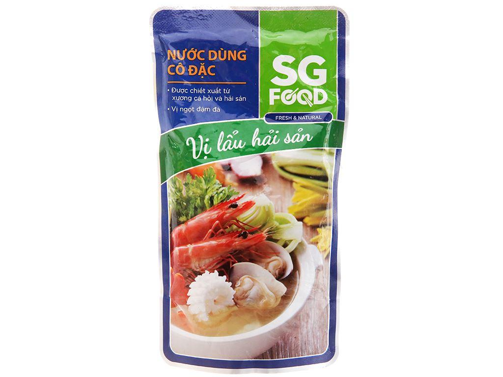 Nước dùng cô đặc nấu lẩu Hải Sản SG Food gói 150g 1