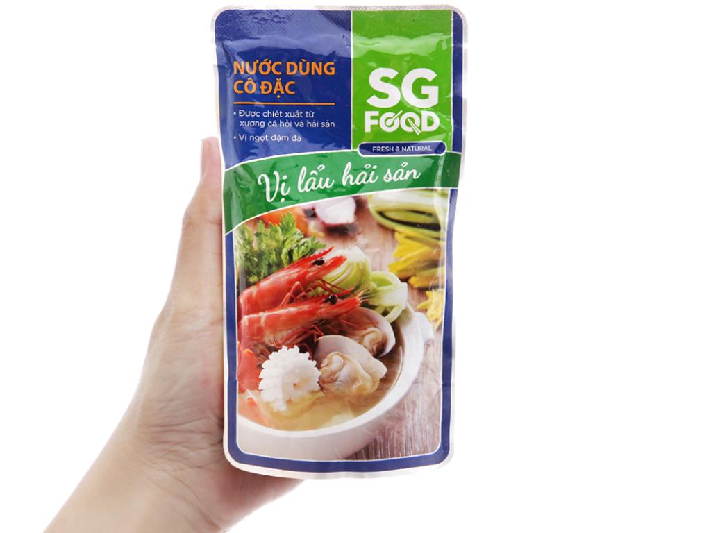 Nước dùng cô đặc nấu lẩu Hải Sản SG Food gói 150g 4