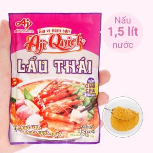 Gia vị nêm sẵn lẩu Thái Aji-Quick gói 55g