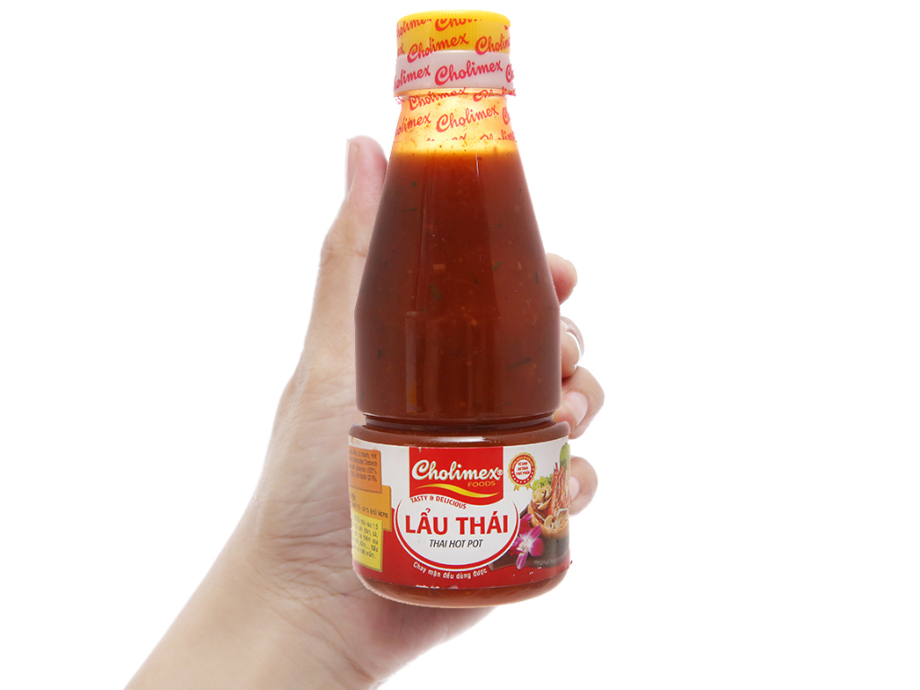 Sốt lẩu Thái Cholimex chai 280g 4