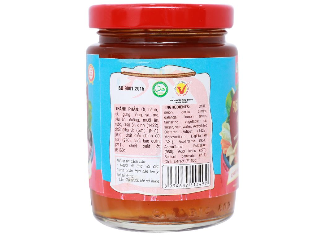 Xốt lẩu chua hải sản Cholimex hũ 200g 2