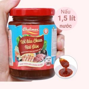 Xốt lẩu chua hải sản Cholimex hũ 200g
