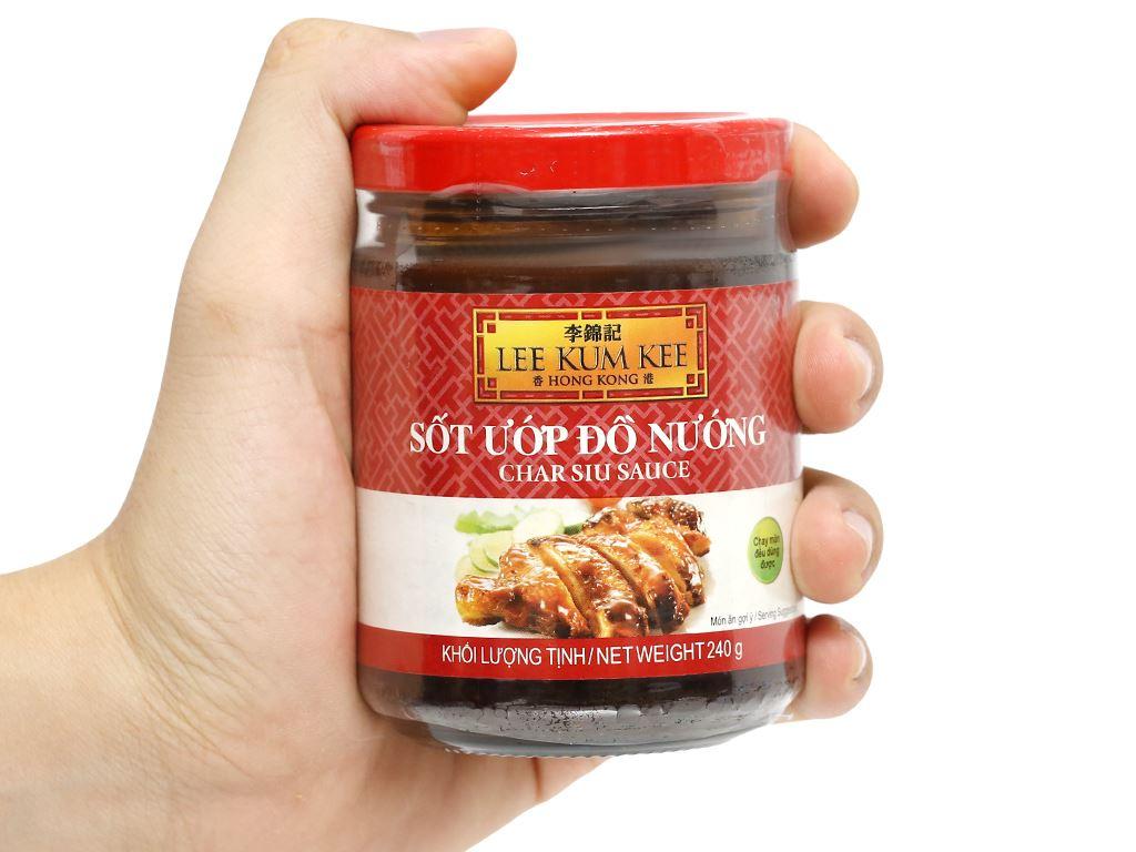 Sốt ướp đồ nướng Lee Kum Kee hũ 240g 6
