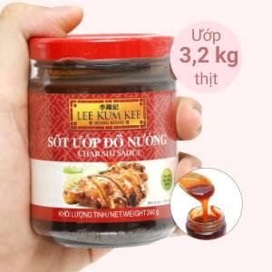 Sốt ướp đồ nướng Lee Kum Kee hũ 240g